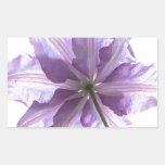 Naturaleza de la flor rectangular altavoz