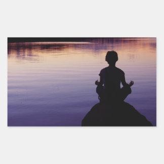 Naturaleza de la meditación de la calma de la yoga