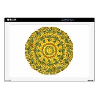Naturaleza de los girasoles, Flor-Mandala Portátil 43,2cm Skin