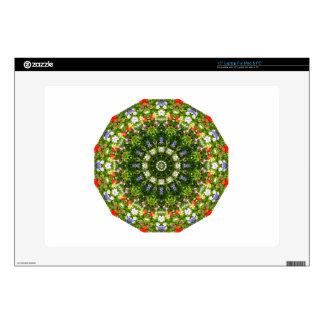 Naturaleza de los Wildflowers, Flor-Mandala Skins Para Portátiles