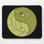 Naturaleza de Yin Yang Alfombrilla De Ratones