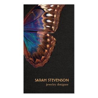 Naturaleza del ala de la mariposa plantillas de tarjeta de negocio