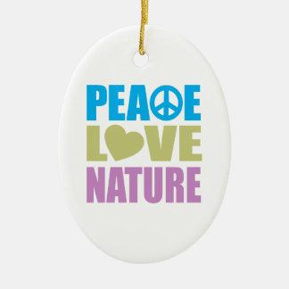 Naturaleza del amor de la paz ornamente de reyes