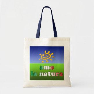 Naturaleza del amor de Natura I del la del Amo en  Bolsa De Mano