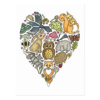 Naturaleza del amor postal