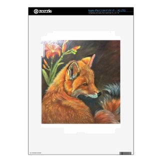 naturaleza del arte de la mano de la pintura de la pegatinas skins para iPad 3