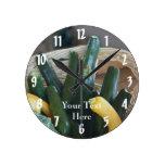Naturaleza del calabacín y de la calabaza de veran reloj