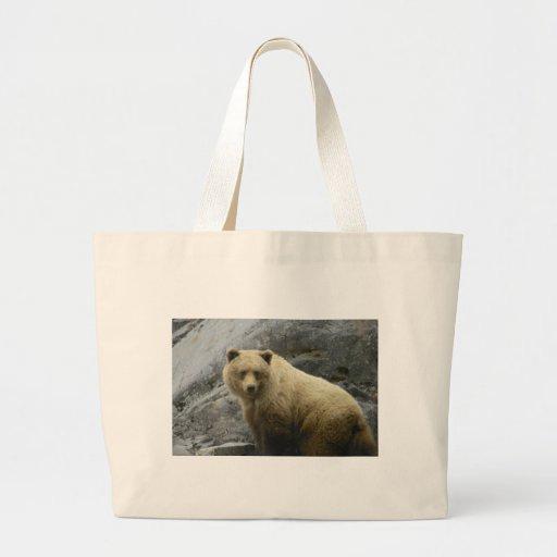 Naturaleza del destino de los animales de Alaska d Bolsa Tela Grande