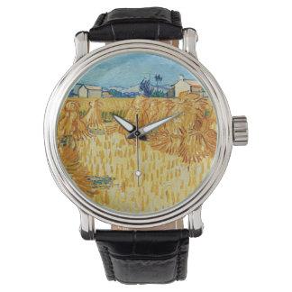 Naturaleza del destino del pintor del artista de reloj de mano