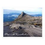 naturaleza del kinabalu del mt tarjetas postales
