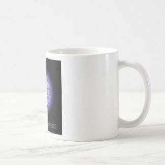 Naturaleza del místico del flower power taza de café
