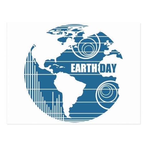 Naturaleza Frienly del Día de la Tierra y orgánico Postal