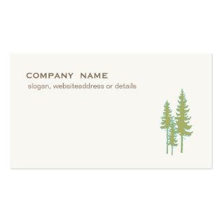 Naturaleza imperecedera y el ajardinar de los tarjetas de visita