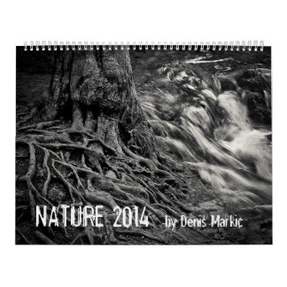 NATURALEZA impresa 2014 del calendario de Denis
