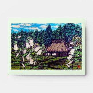 Naturaleza japonesa fresca de la flor de la casa d