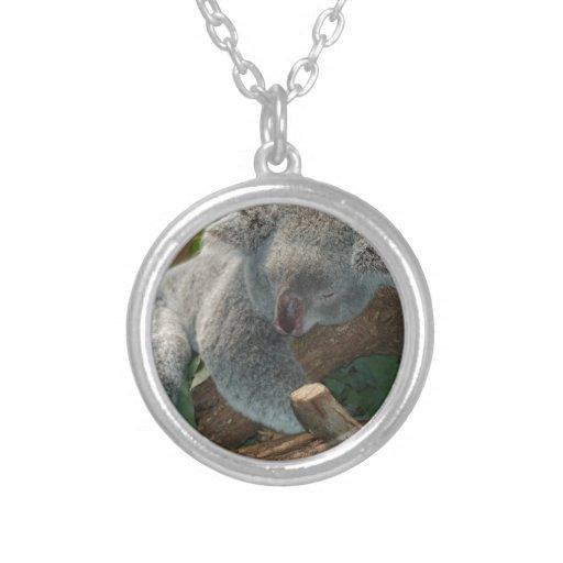 Naturaleza linda Aussi del destino del oso de koal Collar Personalizado