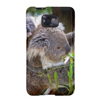 Naturaleza linda Aussi del destino del oso de koal Samsung Galaxy S2 Fundas