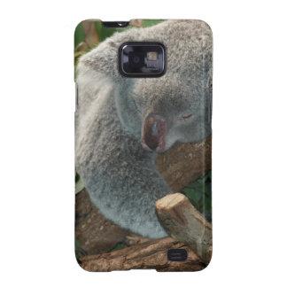 Naturaleza linda Aussi del destino del oso de koal Samsung Galaxy SII Funda