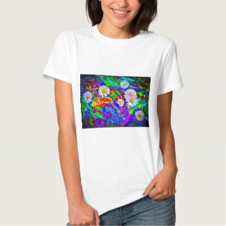 Naturaleza margarita Abstracta Camisas