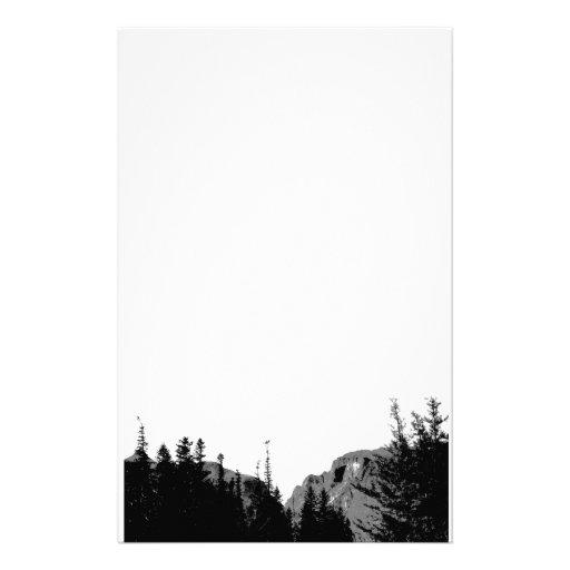 Naturaleza/montaña en efectos de escritorio de B&W Papeleria De Diseño