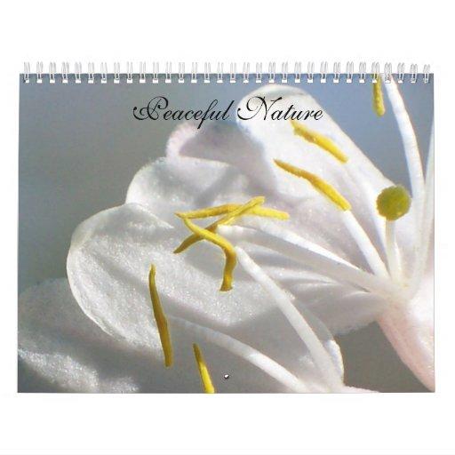 Naturaleza pacífica calendarios
