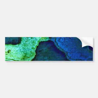Naturaleza Platterns Etiqueta De Parachoque