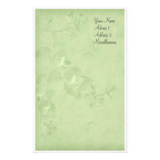 Naturaleza suave en verde papeleria