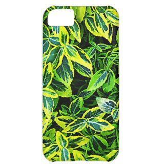 Naturaleza verde Fashi hermoso de Eco del Tress de Funda iPhone 5C