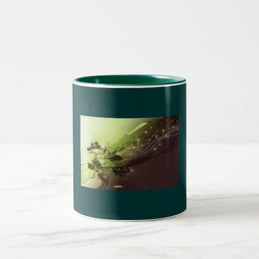 naturaleza viva tazas de café