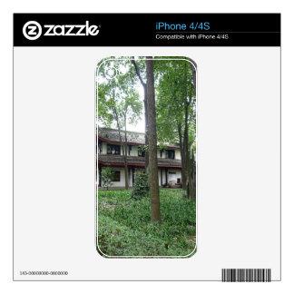 Naturaleza y tranquilidad iPhone 4 calcomanías