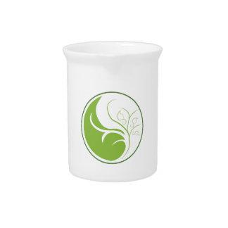Naturaleza Yin Yang Jarra Para Bebida