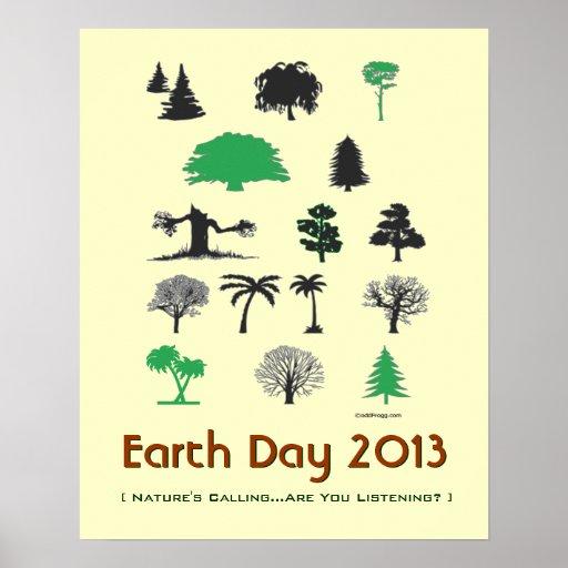 Naturalezas del Día de la Tierra 2013 que llaman e Impresiones