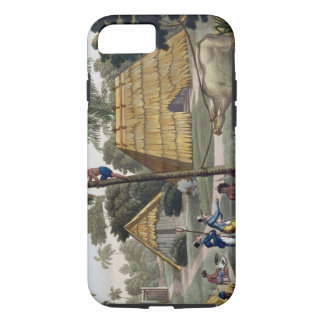 Naturalists question natives near Kupang, Timor, p iPhone 7 Case