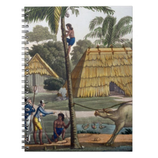 Naturalists question natives near Kupang, Timor, p Spiral Notebook