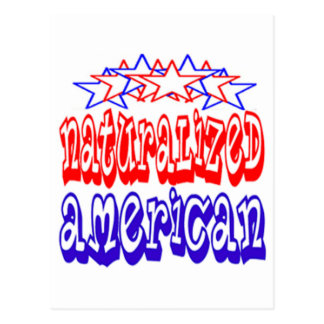 Naturalized American Cards Postcards