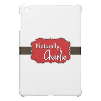 Naturally, Charlie Logo 1 iPad Mini Cases