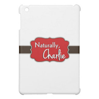 Naturally, Charlie Logo 1 iPad Mini Covers