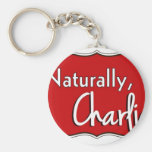 Naturally, Charlie Logo 1 Keychains