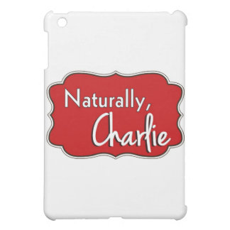 Naturally, Charlie Logo 2 iPad Mini Covers