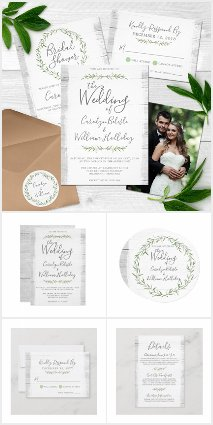 Naturally Classic Wedding Collection