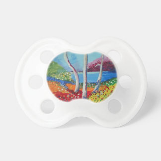 Naturally colorful pacifier