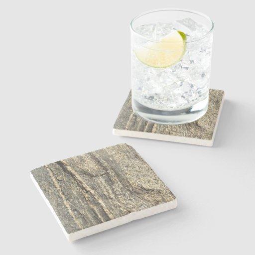 Naturally Cool Surfaces Granite Look Design Stone Beverage Coaster Zazzle