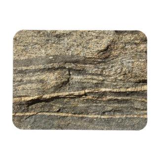 Naturally Cool Surfaces_Granite look Rectangular Photo Magnet