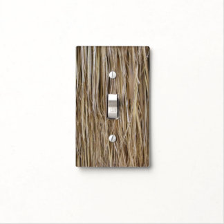 Naturally Cool Surfaces_Palm Tree Hair_Hula Skirt Light Switch Cover