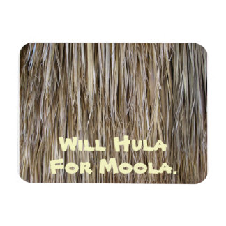 Naturally Cool Surfaces_Palm Tree Hair_Hula Skirt Magnet