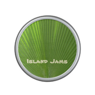 Naturally Cool Surfaces_Radiating Palm_Island Jams Bluetooth Speaker