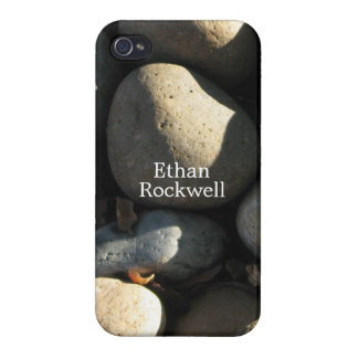 Naturally Cool Surfaces_Rocks & Shade personalized Cases For iPhone 4