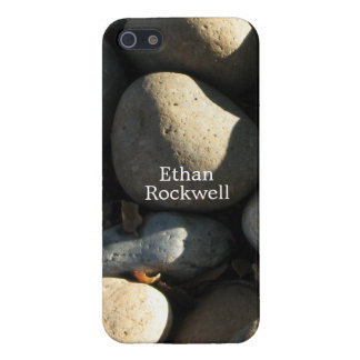 Naturally Cool Surfaces_Rocks & Shade personalized iPhone SE/5/5s Case