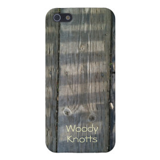 Naturally Cool Surfaces_Shadow Planks_personalized iPhone SE/5/5s Cover