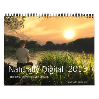 Naturally Digital 2013 Calendar